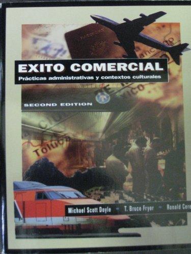 9780030173189: Éxito comercial: prácticas administrativas y contextos culturales