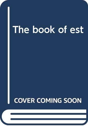 9780030173868: Book of EST