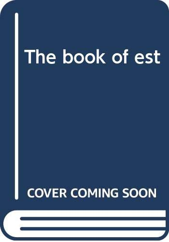 9780030173868: The book of est