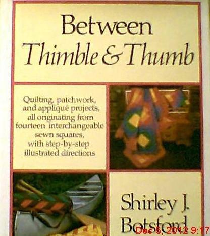 9780030175015: Title: Between Thimble Thumb