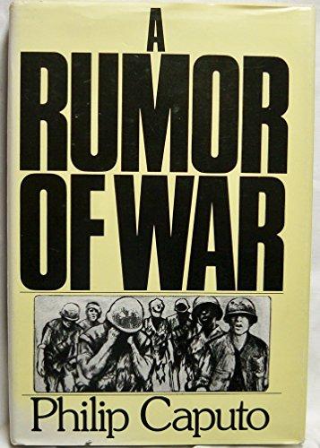 9780030176319: A Rumor of War