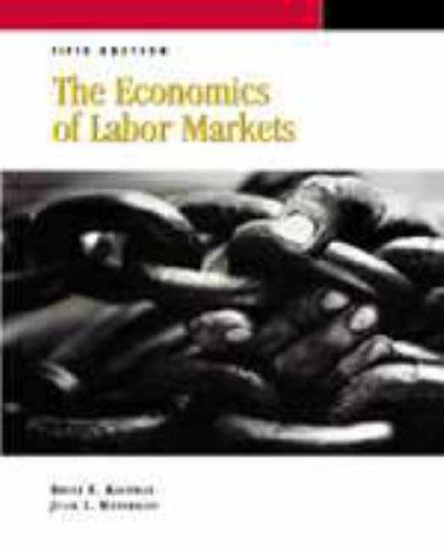 9780030176388: THE ECONOMICS OF LABOR MARKETS, 5/E (Dryden Press Series in Economics)