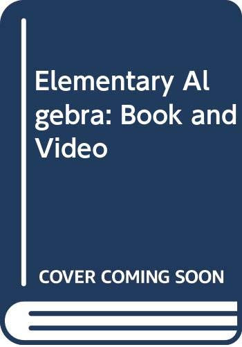 Elementary Algebra: Book and Video (0030177537) by Charles P. McKeague