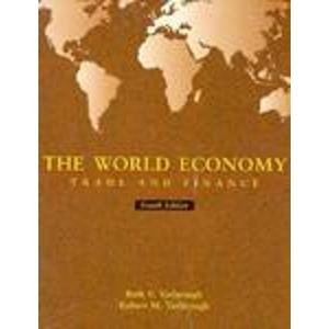 9780030177644: The World Economy: Trade and Finance (The Dryden Press series in economics)