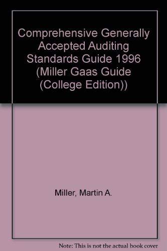 9780030177729: Miller Gaas Guide 1996 (Miller Gaas Guide (College Edition))