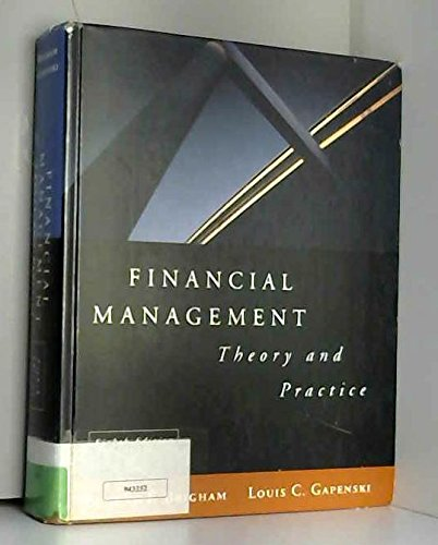 9780030177897: Financial Management: Theory and Practice (The Dryden Press series in finance)