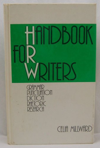 9780030177965: Handbook for Writers: Grammar, Punctuation, Diction, Rhetoric, Research
