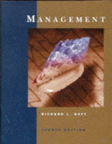 9780030179891: Management (The Dryden Press series in management)