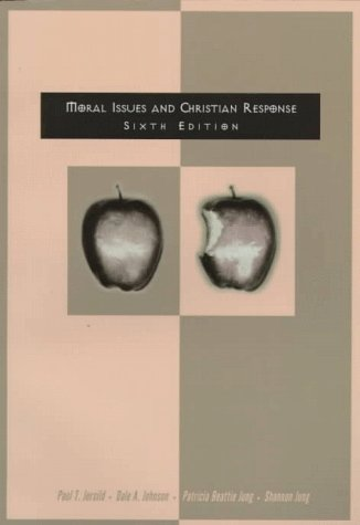 9780030180620: Moral Issues and Christian Response