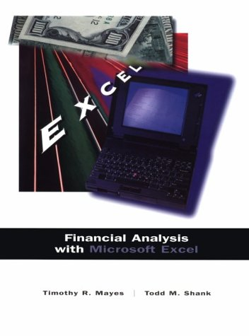 9780030180835: Financial Analysis With Microsoft Excel
