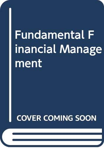 9780030181238: Fundamental Financial Management