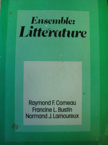 9780030182662: Ensemble: Litterature