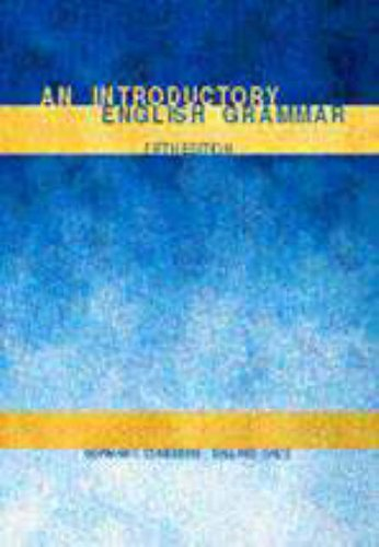 9780030183843: An Introductory English Grammar