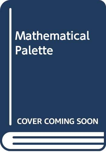 9780030184079: Mathematical Palette