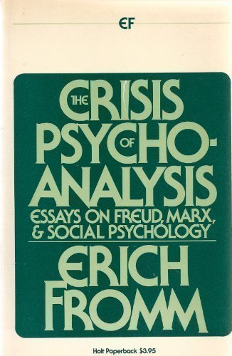 9780030184161: The Crisis of Psychoanalysis