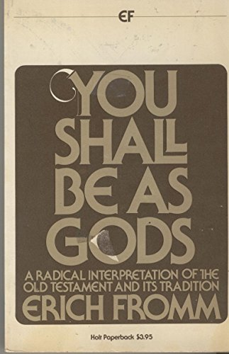 9780030184260: Title: You Shall Be As Gods