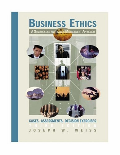 9780030184581: Business Ethics: A Stakeholder and Issues Management Approach