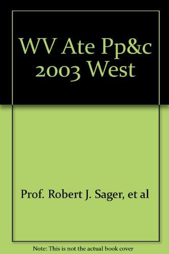 9780030185496: WV Ate Pp&c 2003 West