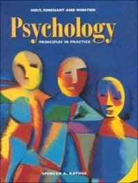 9780030185748: Psychology: Principles in Practice, Annotated Teacher's Edition by Spencer A Rathus (1998-05-03)