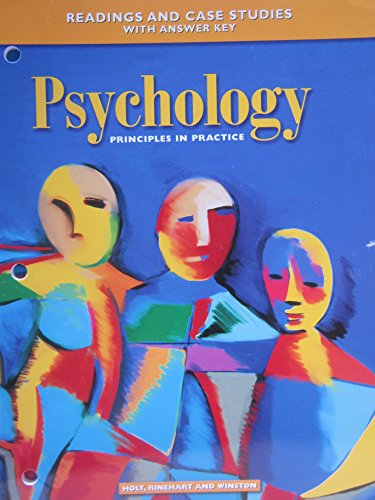 9780030185786: Readings and Case Studies (Psychology: Principles in Practice)