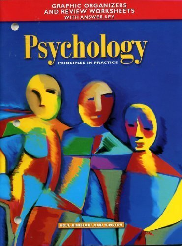 Psychology : Principles and Practice: Graphic Organizer: Holt, Rinehart and