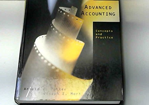 9780030186127: Advanced Accounting: Concepts and Practice (The Dryden Press series in accounting)