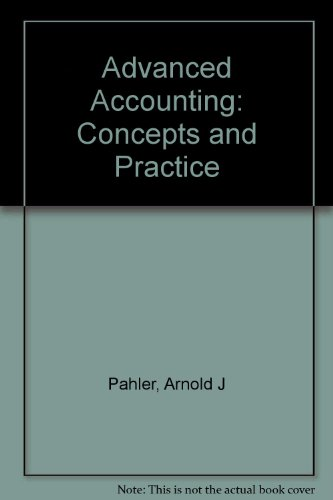 9780030186134: Advanced Accounting: Concepts and Practice