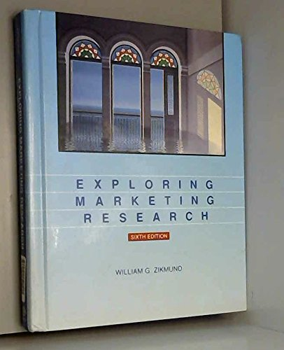 9780030187636: Exploring Marketing Research