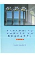 9780030187636: Exploring Marketing Research (The Dryden Press Series in Marketing)