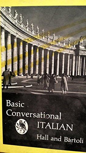 9780030188657: Basic Conversational Italian
