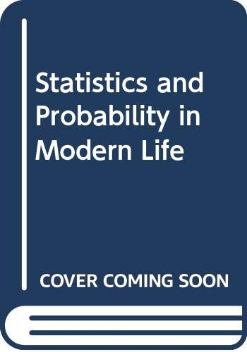 9780030188817: Statistics and Probability in Modern Life