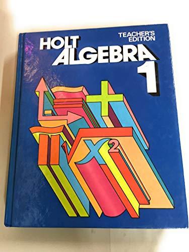 9780030189067: Holt algebra, 1