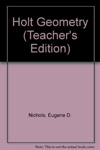 9780030189265: Holt Geometry (Teacher's Edition)