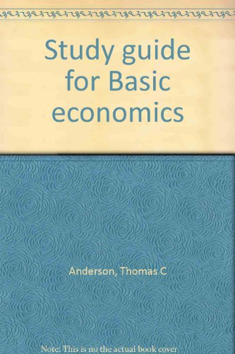 9780030189463: Study guide for Basic economics