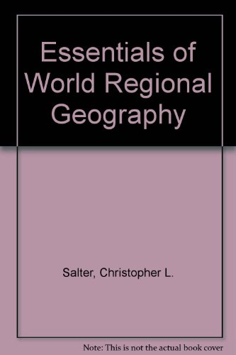 Essentials of World Regional Geography Workbook &: Lett