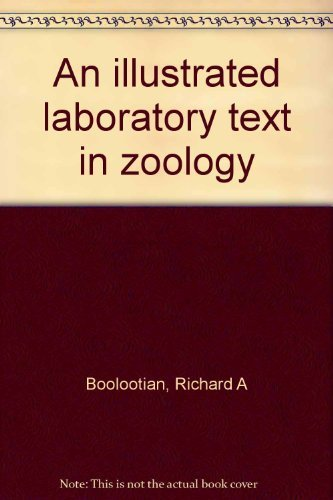 9780030190216: An illustrated laboratory text in zoology