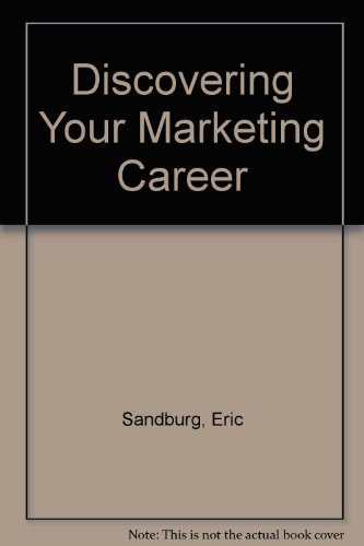 9780030191572: Discovering Your Marketing Career
