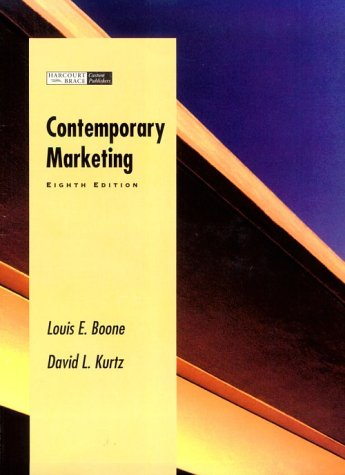 9780030192296: Contemporary Marketing Plus/Contemporary Version Without Chapters 5,15, and 20