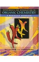 9780030192388: Laboratory Experiments for Introductory Organic Chemistry