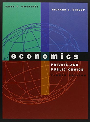 9780030192692: Economics: Private and Public Choice