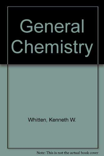 9780030192722: General Chemistry