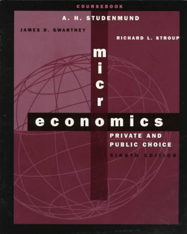 9780030192920: Microeconomics: Private and Public Choice