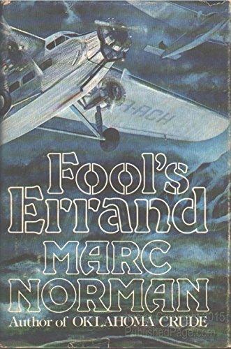 9780030193019: Fool's errand: A novel