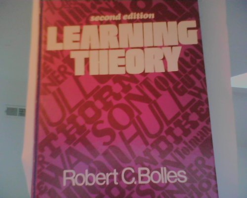 9780030193064: Learning Theory