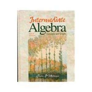 9780030194689: Intermediate Algebra: Concepts and Graphs