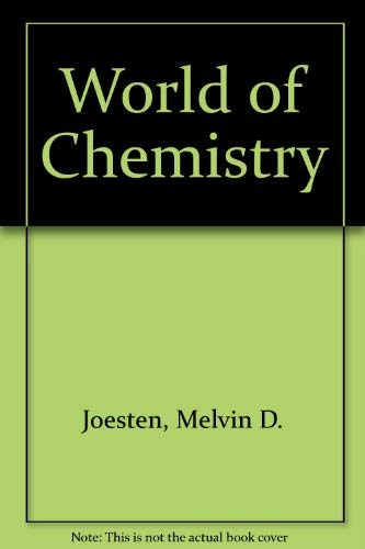 9780030194993: World of Chemistry