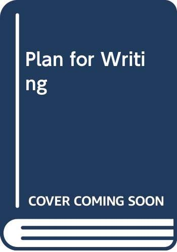 9780030195167: Plan for Writing