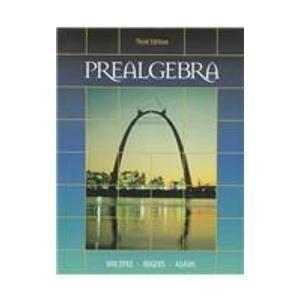 9780030196386: Thomson Advantage Books: Prealgebra