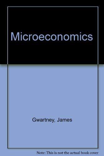 9780030198830: Microeconomics: Private and Public Choice
