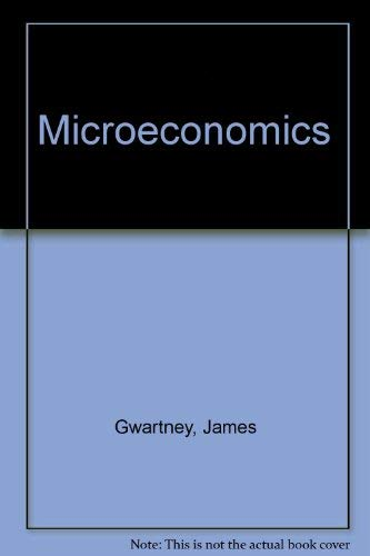 9780030198830: Microeconomics: Private and Public Choice